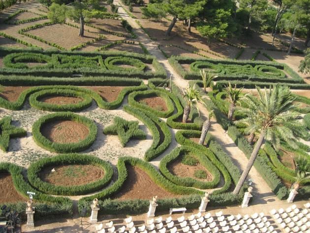 Castello Donnafugata - Giardini