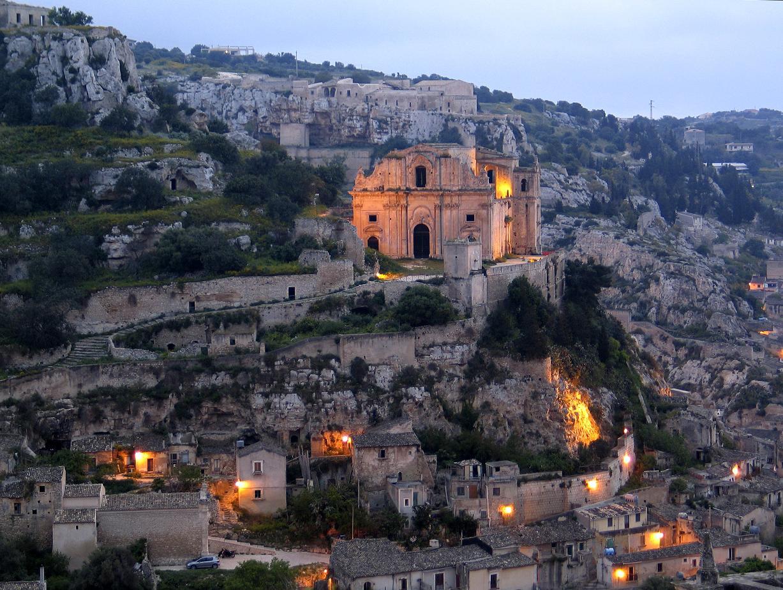 Scicli - L'antica chiesa di San Matteo